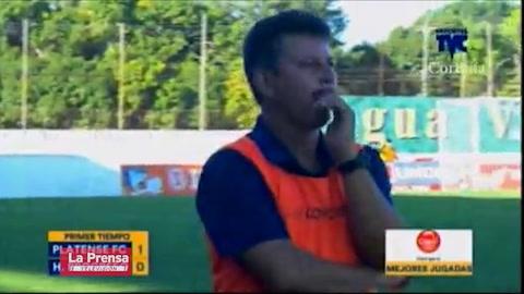 Platense 2-3 Honduras Progreso