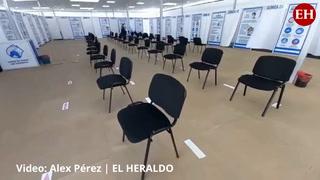 Triaje del Centro Cívico Gubernamental reporta poca asistencia de personas