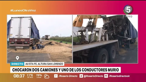 Identificaron a cinco víctimas fatales de accidentes en autopistas a Santa Fe y Córdoba