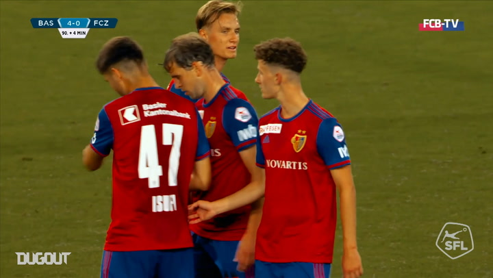 Fabian Frei's brilliant brace vs FC Zurich