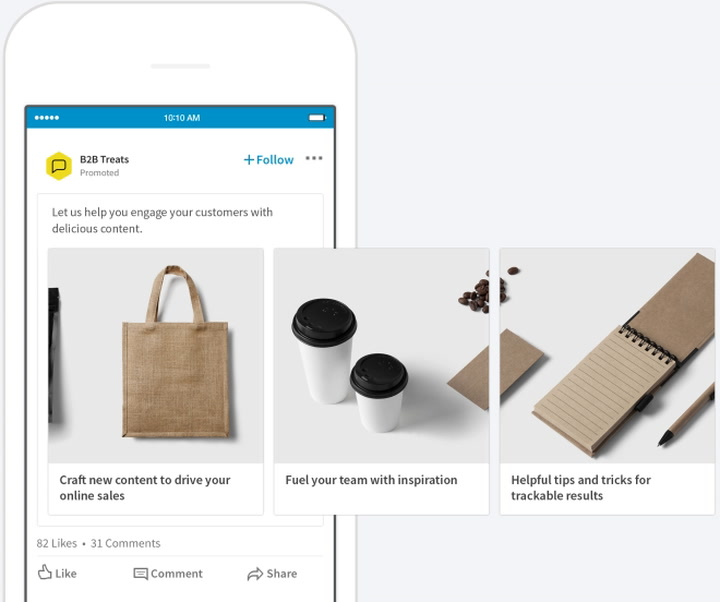 LinkedIn Is Finally Offering Carousel Ads – Adweek