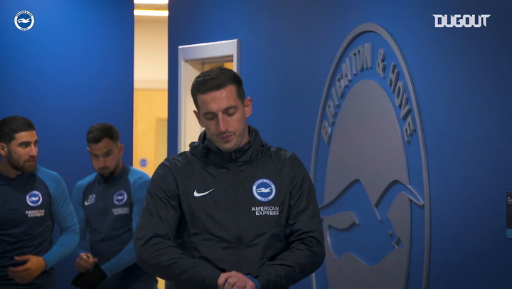 Behind the scenes: Brighton & Hove Albion welcome Crystal Palace to the Amex