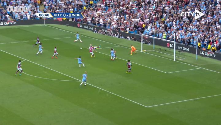Sterling rounds off flowing team move vs West Ham
