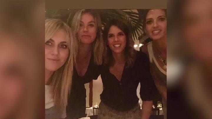 Sara Carbonero, reencuentro con sus amigas de 'La Sexta'