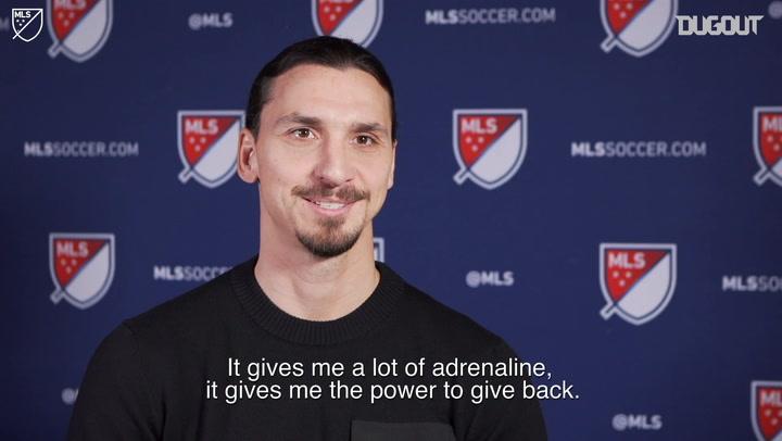 Ibrahimović Targets MLS Cup Glory