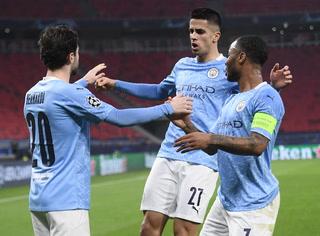 Bernardo Silva anota el primero del City sobre el Monchengladbach por Champions
