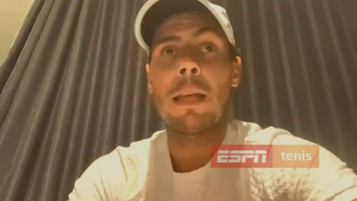 Nadal regaña a Djokovic sin citarle
