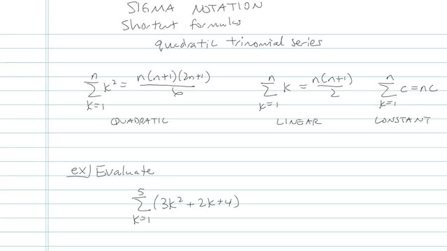 Series and Summation Notation - Problem 6