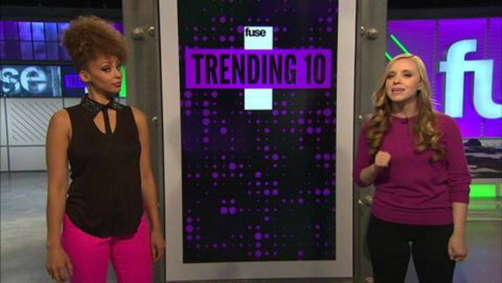 Shows: Trending 10: Friday 111612