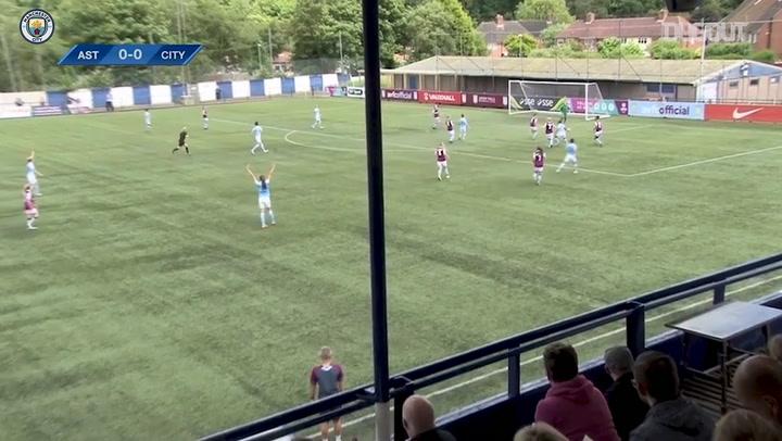 Nikita Parris nets hat-trick as Man City hit eight past Aston Villa