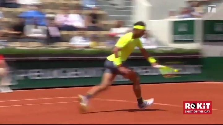 El puntazo de Rafa Nadal del que habla todo el mundo en Roland Garros