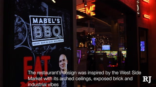 Michael Symon, chef and owner of Mabel's BBQ, talks about his first Las Vegas restaurant