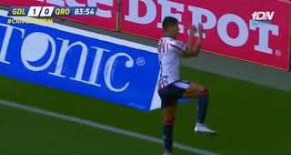 Allan Pulido anota con Chivas y celebra al estilo de Cristiano Ronaldo