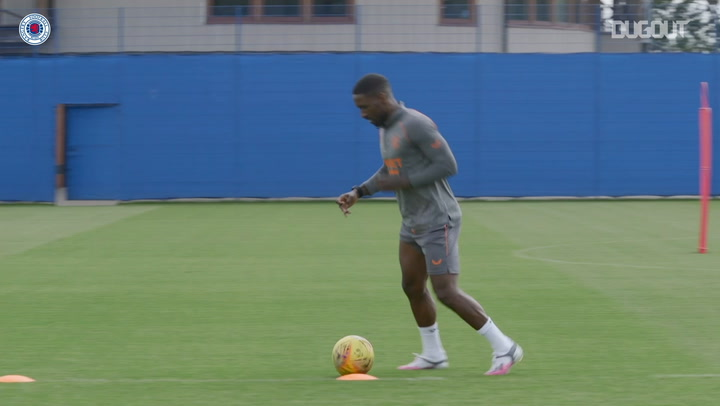 Jermain Defoe delighted to be a permanent Rangers player