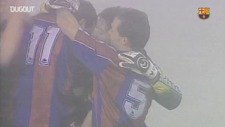 Hagi's goal at Celta in 'the party of the fog'