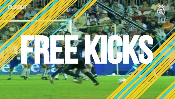 Free Kicks: David Beckham vs Malaga