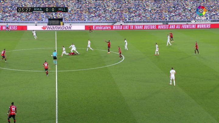 FALTA RAMOS KUBO Real Madrid - RCD Mallorca J31