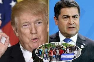 Donald Trump lanza brutal amenaza a Honduras por caravana de migrantes