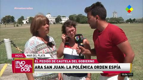 Los familiares de los tripulates del ARA San Juan