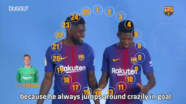 Umtiti & Dembélé take the emoji challenge