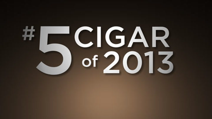 No. 5 Cigar of 2013