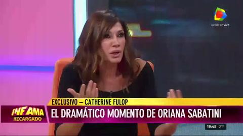 Cathy Fulop relató el drama que vivió su hija Oriana Sabatini