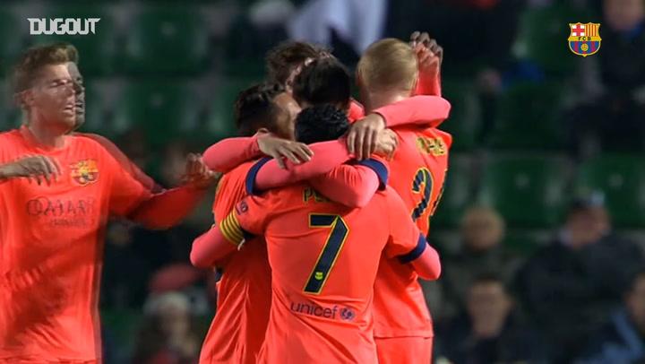Un joven Barcelona se pasea en Elche en Copa del Rey