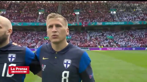 Dinamarca 0 - 1 Finlandia (EURO 2020)
