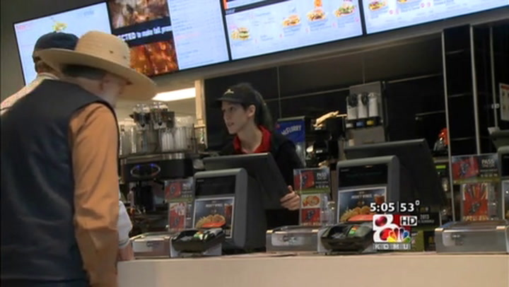 McDonald\'s Reopens after Three Months of Reconstruction