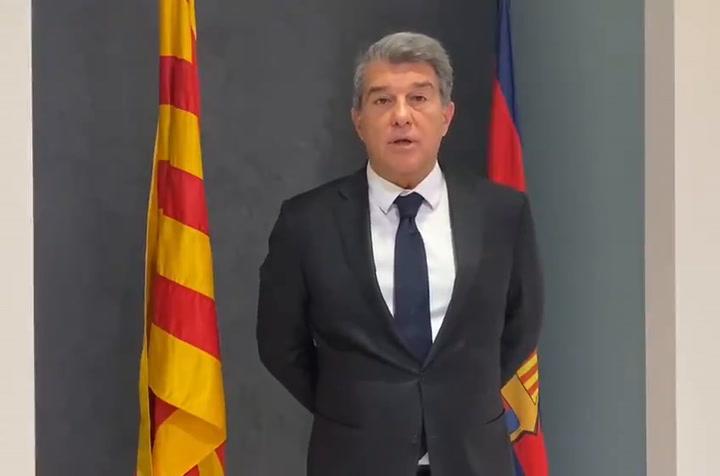 Joan Laporta desea un feliz Sant Jordi para todos