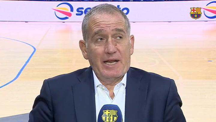 Andreu Plaza se emociona y llora al hablar de la lesión de Sergio Lozano
