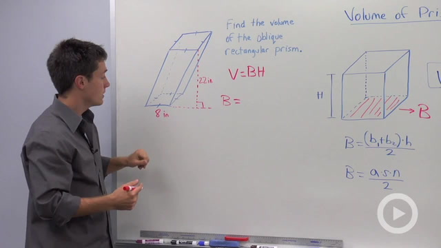 Volume of Prisms - Problem 3