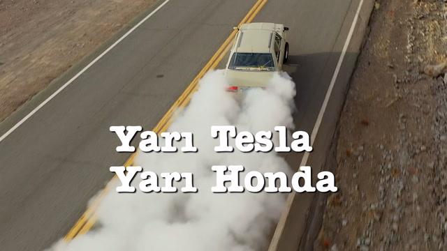 Yarı Tesla yarı Honda: Teslonda