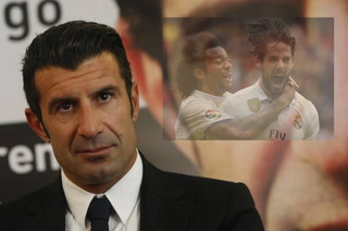 Luis Figo se pronuncia sobre la situación de Isco y Marcelo en el Real Madrid