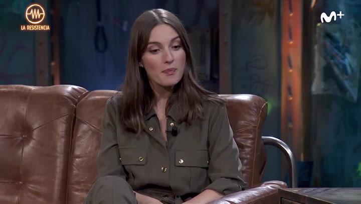 María Valverde responde a la pregunta sobre sexo de Broncano