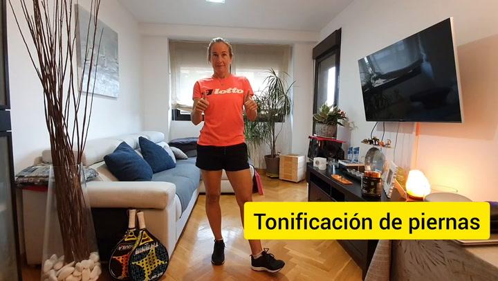Cecilia Reiter y Carolina Navarro proponen una serie de ejercicios para entrenar en casa