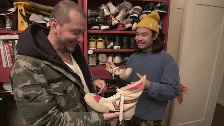 Kickin' It With Miguel Larios: Closet Tours