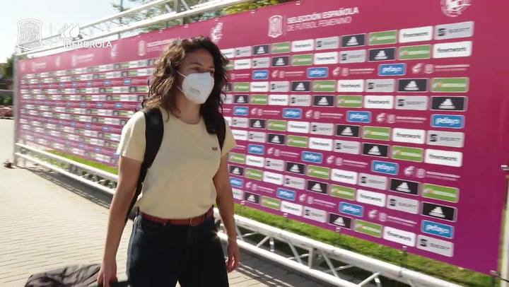 La selección femenina vuelve al trabajo con la Eurocopa en mente