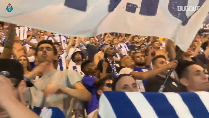 FC Porto Fans In Estadio de Luz