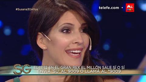 Por un blooper de Susana se supo el sexo del bebé que espera Isabel Macedo