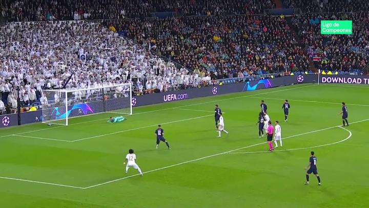 Champions League: Real Madrid - PSG. Paradas de Keylor Navas