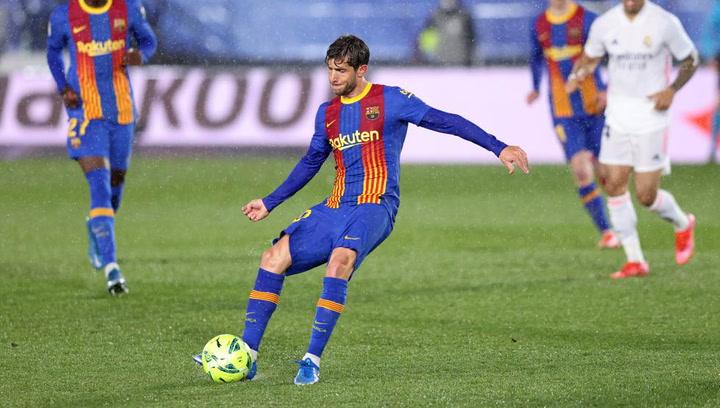 Así son los números de Sergi Roberto con el FC Barcelona