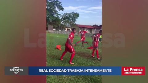 Video: Real Sociedad trabaja intensamente para su regreso en primera