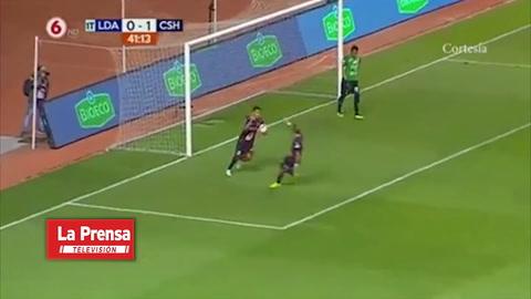 El gol de penal de Roger Rojas ante Herediano