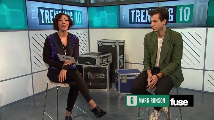 Shows: Trending 10: Mark Ronson Interview (November 2014)