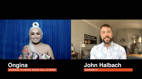 THE QUEERTY INTERVIEW: Ongina, RuPaul's Drag Race All Stars