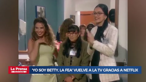 'Yo soy Betty, la fea' vuelve a la TV gracias a Netflix