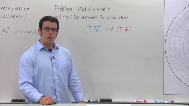 The Distance Formula in Polar Coordinates - Problem 1