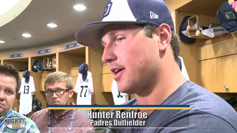 Renfroe, Jankowski on time in Minors, being recalled