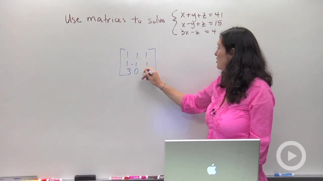 Solving Systems using Matrices - Problem 2